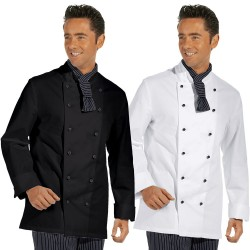 veston du cuisinier, manches longues